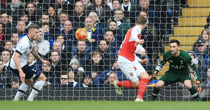 Aaron Ramsey: Scores Arsenal's opener