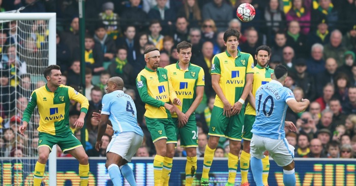 Sergio Aguero: Fired a blank at Carrow Road