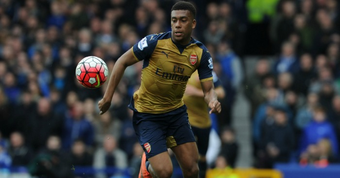 Alex Iwobi: Top of the shop for unsuccessful touches