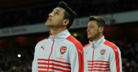 Alexis Sanchez & Mesut Ozil: Have two years left on Arsenal deals