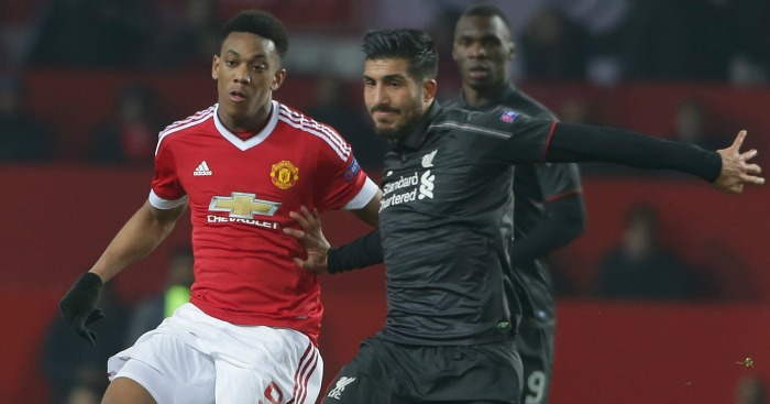Emre Can: Stood out for Liverpool at Old Trafford