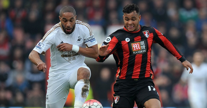 Ashley Williams: Keeps a close eye on Joshua King
