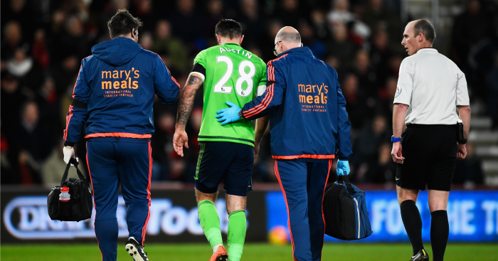 Charlie Austin: Injured against Bournemouth