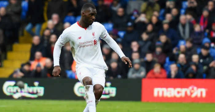 Christian Benteke: Scored late winner for Liverpool