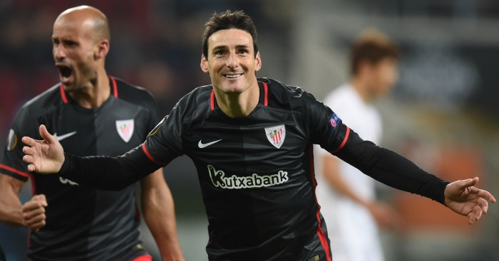 Aritz Aduriz: In good form for Bilbao this season