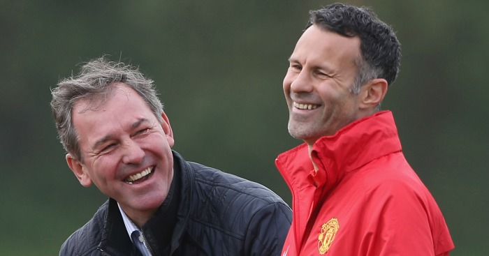 Bryan Robson: Backing for Ryan Giggs
