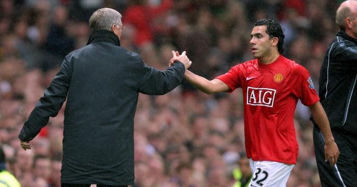 Carlos Tevez: Forward left Old Trafford in 2009