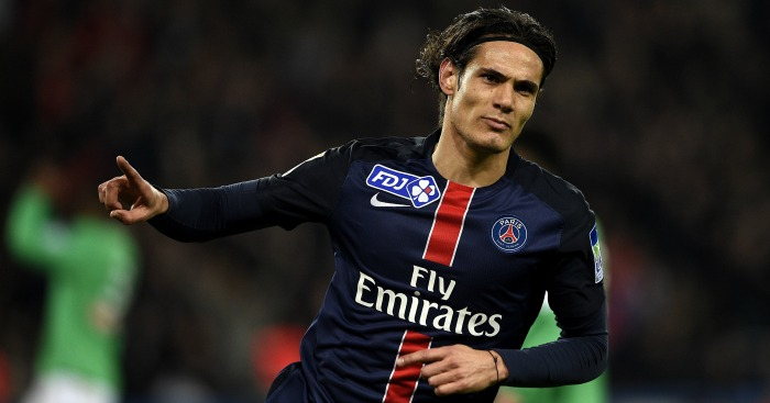 Edinson Cavani: Being chased by Chelsea