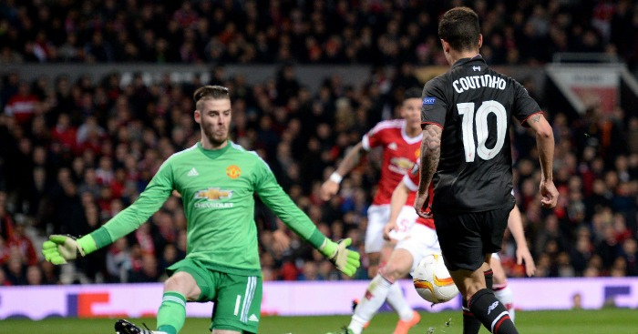 Philippe Coutinho: Stunned Old Trafford with equaliser