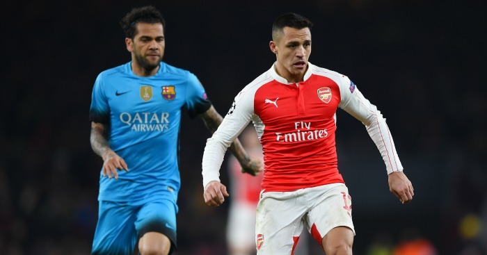 Dani Alves: Reckons Barca were right to sell Alexis Sanchez