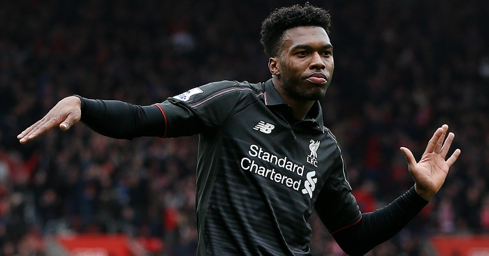 Daniel Sturridge: Hoping to bring up a century of goals for the Reds