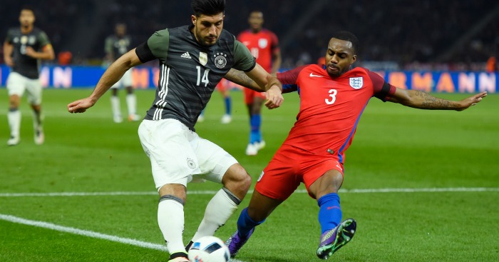 Danny Rose: Defender impressed on England debut