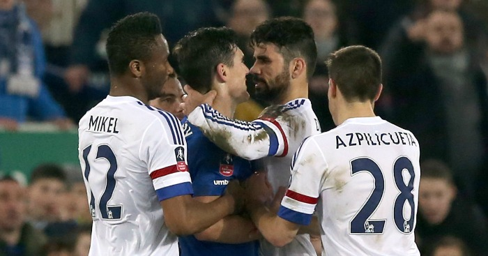 Diego Costa: Chelsea striker says he did not bite Gareth Barry