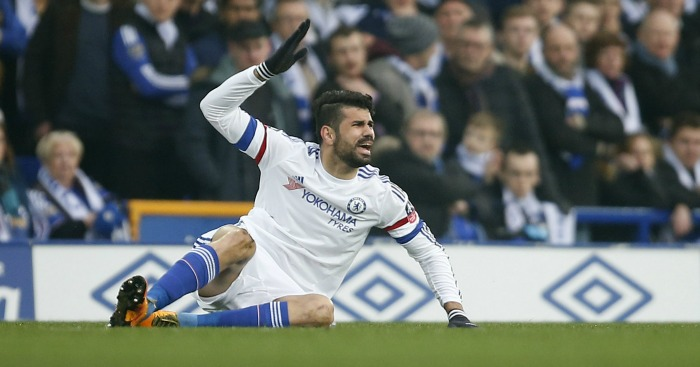 Diego Costa: Chelsea striker defended by Joey Barton