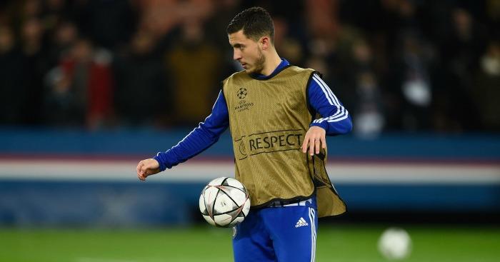Eden Hazard: Fitness a concern for Chelsea boss Guus Hiddink