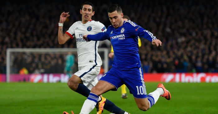 Eden Hazard: Criticised for half-time shirt swap