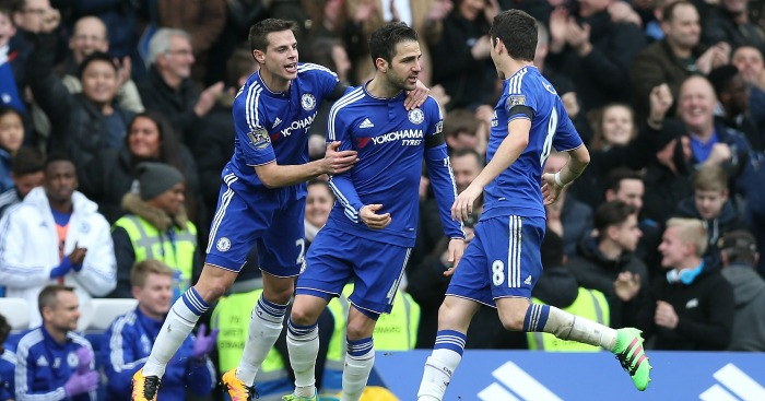 Cesc Fabregas: Scored twice