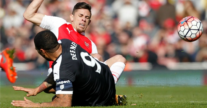 Troy Deeney: Says Gabriel could have broken his leg in challenge