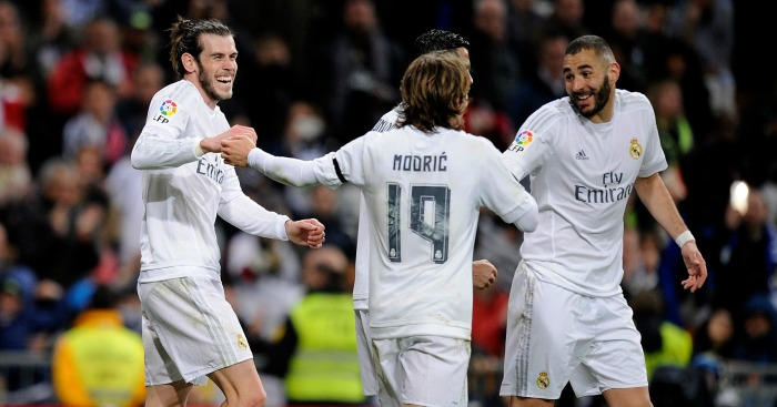 Gareth Bale: Helped Real Madrid close gap on La Liga leaders