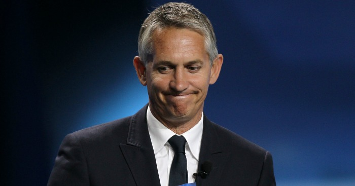 Gary Lineker: Set to present MOTD in his underpants