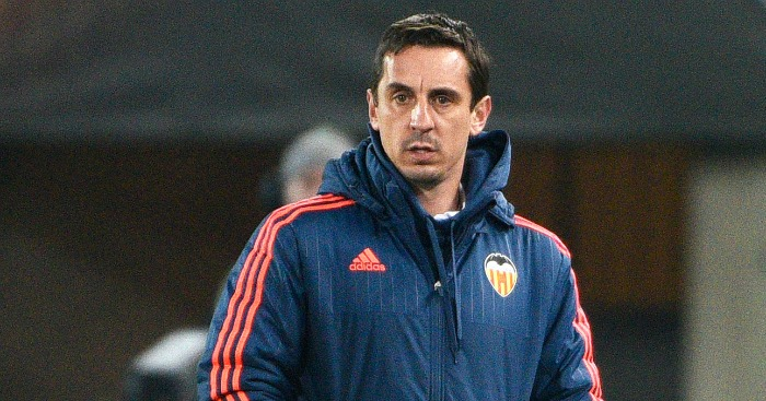 Gary Neville: Slammed by former Valencia chief