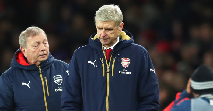 Arsene Wenger: Unhappy with decision for equaliser