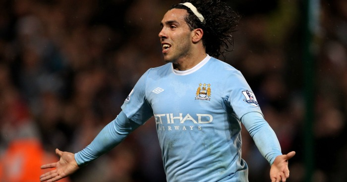 Carlos Tevez: Striker bagged a hat-trick against Wigan