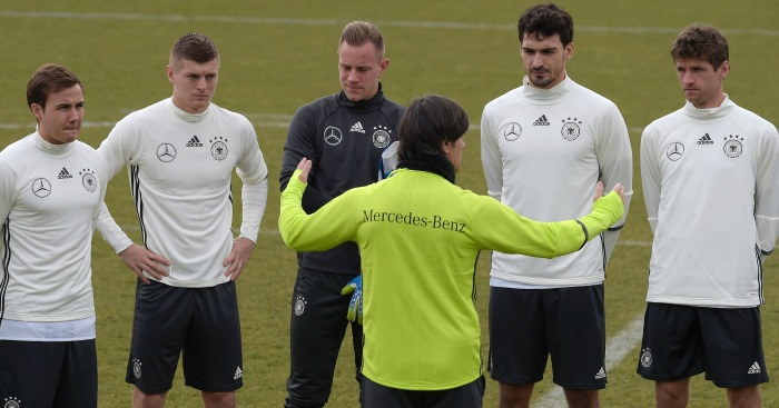 Mario Gotze (l): Should be a United target