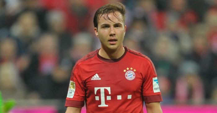 Mario Gotze: Liverpool target free to leave Bayern Munich