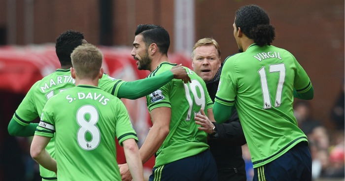 Southampton: Desperate to get back into Europa League