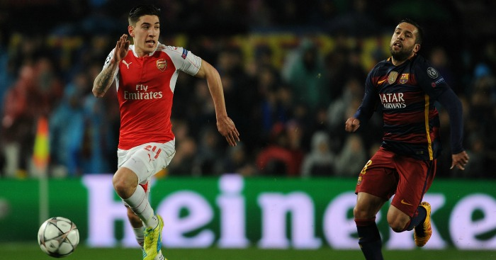Hector Bellerin: Defender has attracted interest from Barca