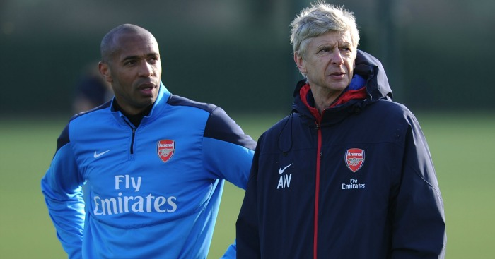 Arsene Wenger: Took a shot at Henry