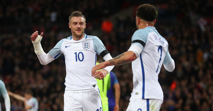 Jamie Vardy: Should start on the England bench, says Scholes