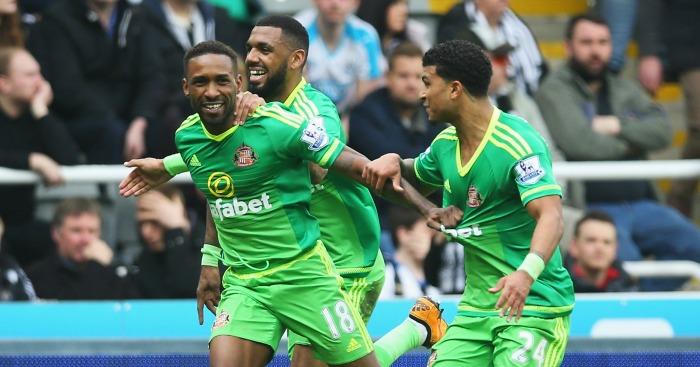Jermain Defoe: Put Sunderland ahead at Newcastle United