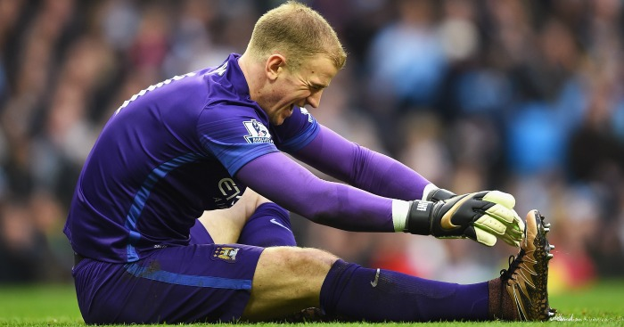 Joe Hart injured