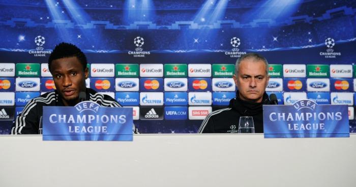 John Obi Mikel: Midfielder critical of Mourinho's man management