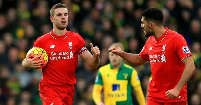 Jordan Henderson & Emre Can: Liverpool's favoured midfield pairing