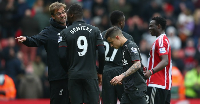 Christian Benteke: Was spoken to by Jurgen Klopp