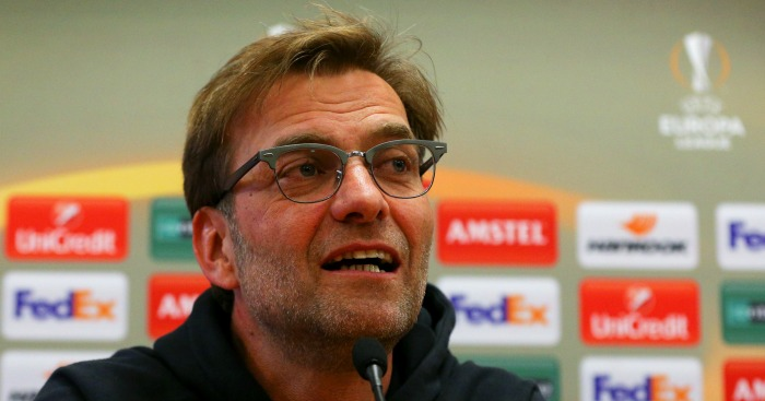 Jurgen Klopp: Says there's little between Liverpool and Man Utd