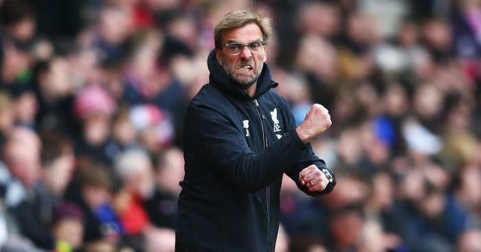 Jurgen Klopp: Demands fighting spirit at Liverpool
