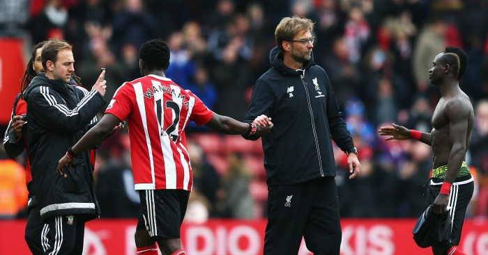 Jurgen Klopp: Admitted Southampton deserved to beat Liverpool