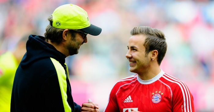 Mario Gotze: Midfielder shone under Klopp at Dortmund