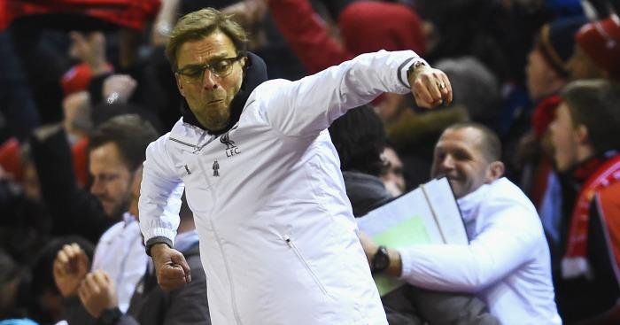 "Jurgen Klopp: Jurgen Klopp: Praised Anfield's ""unbelievable atmosphere"""