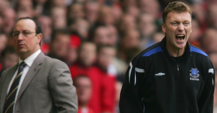 Moyes and Benitez: On the touchline
