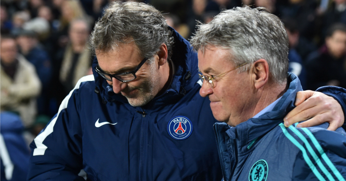 Laurent Blanc: Commiserates Guus Hiddink