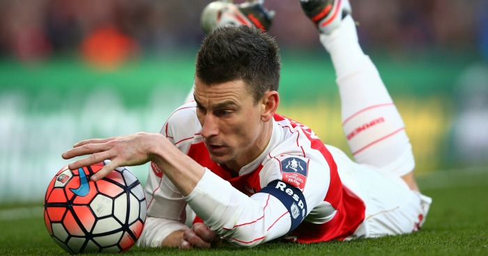 Laurent Koscielny: Has three years left on Arsenal deal