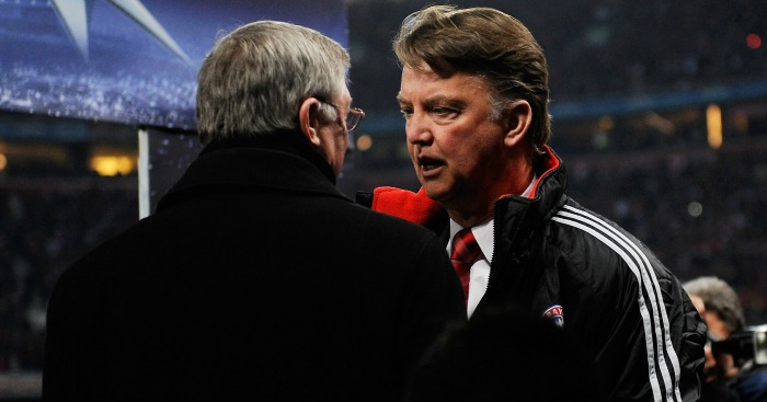 Louis van Gaal: Deserves credit, says Ferguson