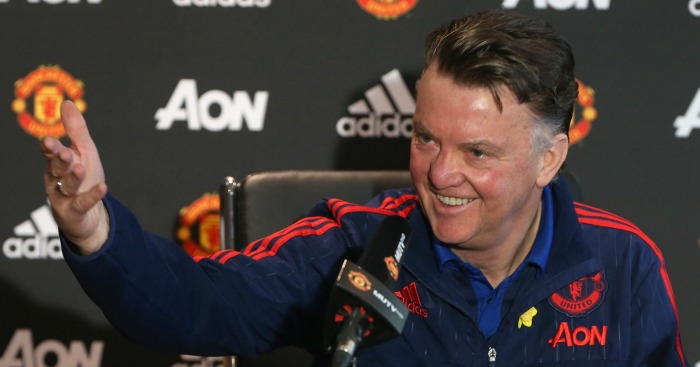 Louis van Gaal: Believes his methods are working