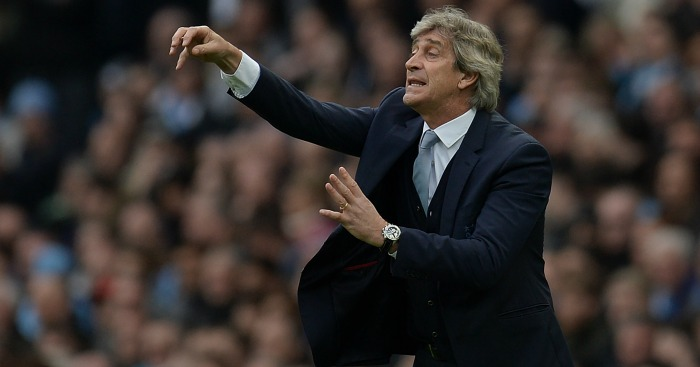Manuel Pellegrini: Denied he has lost control at Manchester City