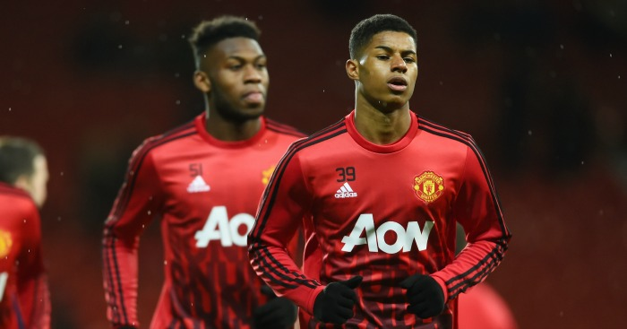 Marcus Rashford, Timothy Fosu-Mensah: Coming through the ranks